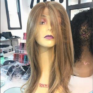 Accessories - Wig Blonde Mix Long Human hair Blende